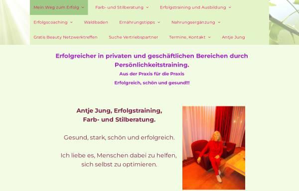 Vorschau von www.institut-antje.de, Antje Jung