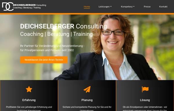 Vorschau von www.deichselberger-consulting.de, Deichselberger Consulting