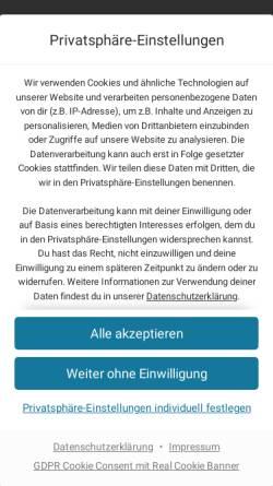 Vorschau der mobilen Webseite www.deichselberger-consulting.de, Deichselberger Consulting