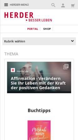Vorschau der mobilen Webseite www.gluecklich-leben-akademie.de, Glücklich leben-Akademie