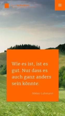Vorschau der mobilen Webseite david-schubert.com, David Schubert