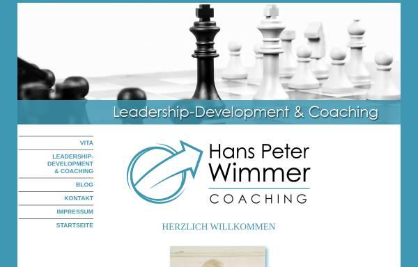 Vorschau von www.hanspeter-wimmer.de, Hans-Peter Wimmer