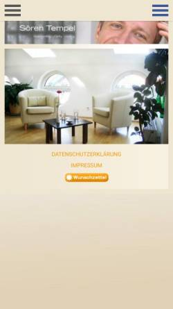 Vorschau der mobilen Webseite www.coachingpraxis-kreuzberg.de, Coachingpraxis Kreuzberg