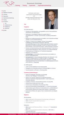 Vorschau der mobilen Webseite www.rosemarie-steinhage.de, Rosemarie Steinhage