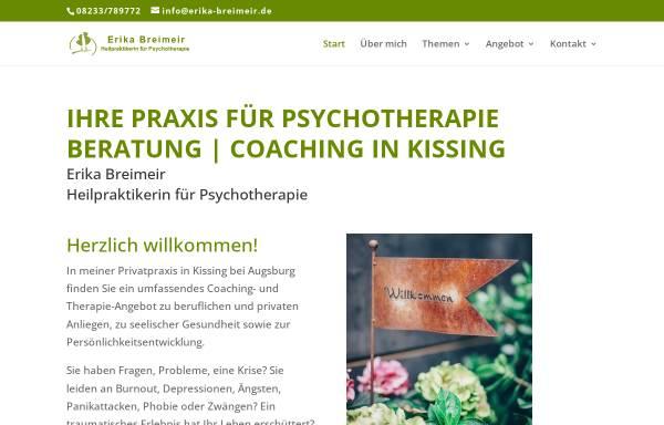 Vorschau von erika-breimeir.de, Erika Breimeir