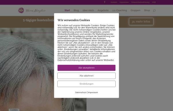 Vorschau von www.wera-naegler.de, Wera Nägler