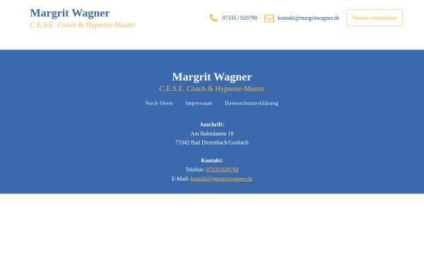 Vorschau von www.margritwagner.de, Margrit Wagner