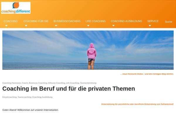 Vorschau von coaching-different.de, Dr. Olaf Mußmann und Rainer Wahl