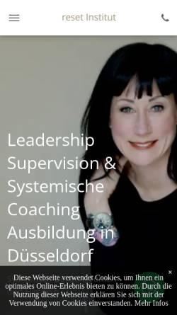 Vorschau der mobilen Webseite reset-kommunikation.de, Re|set- Kommunikation neu erfahren