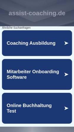 Vorschau der mobilen Webseite www.resilienzexperte.de, Nicola De Nittis