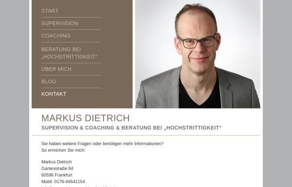 Vorschau von supervision-coaching-frankfurt.de, Markus Dietrich