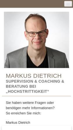 Vorschau der mobilen Webseite supervision-coaching-frankfurt.de, Markus Dietrich