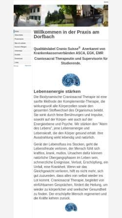 Vorschau der mobilen Webseite silvia-heller.ch, Praxis am Dorfbach