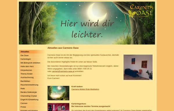 Vorschau von www.carmens-oase.at, Carmens Oase