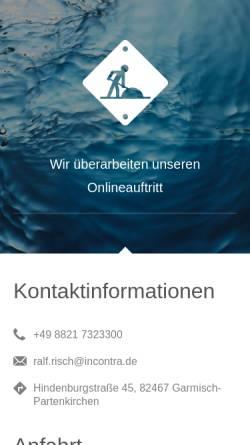 Vorschau der mobilen Webseite www.quantum-purification.info, Quantum Purification GmbH