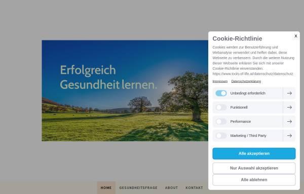 Vorschau von www.tools-of-life.at, Daniela Keller - Tools of Life