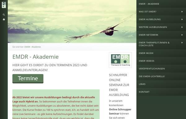 Vorschau von emdr-akademie.de, Private Akademie für Psychologische Bildung