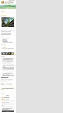 Vorschau der mobilen Webseite www.iseler-muehle.de, Heilungs- und Meditationszentrum Iseler Mühle