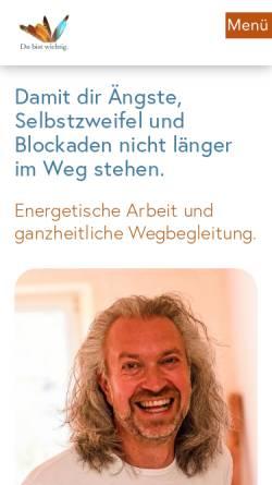 Vorschau der mobilen Webseite www.elementarheilung.info, Praxis für Elementarheilung