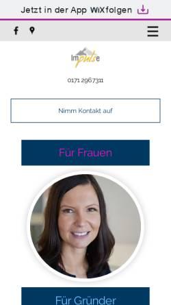 Vorschau der mobilen Webseite www.christinebreyer.de, Breyer Consulting
