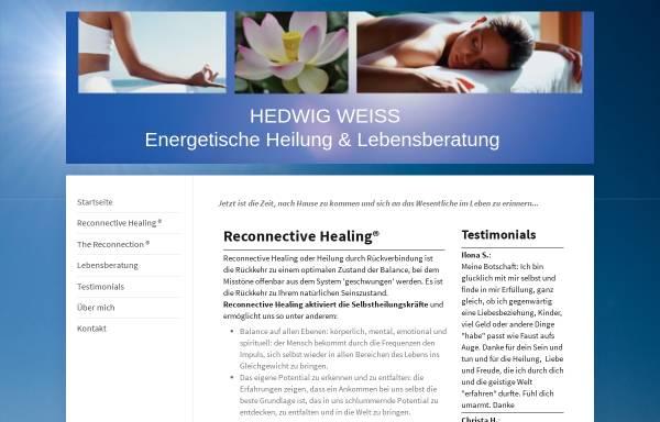 Vorschau von reconnecting-home.de, Hedwig Lara'Ana Weiß