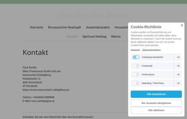 Vorschau von www.zwischendenwelten.at, Zwischen den Welten