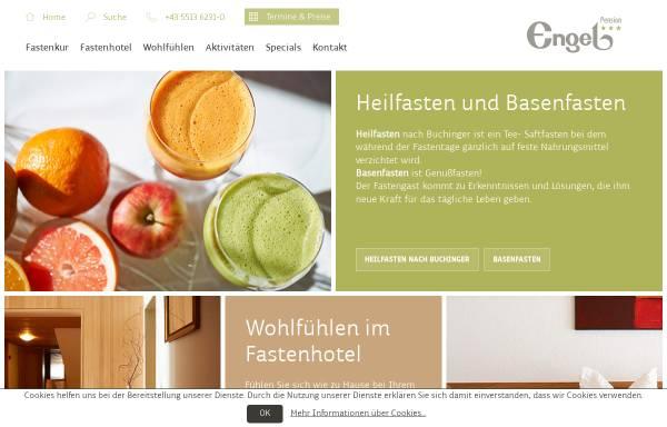 Vorschau von www.fastenkur.at, Pension Engel Fastenhotel