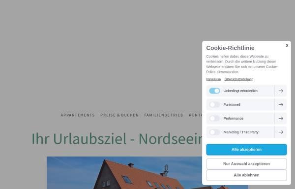Vorschau von www.juist-urlaub.de, Hotel und Haus Worch Insel Juist