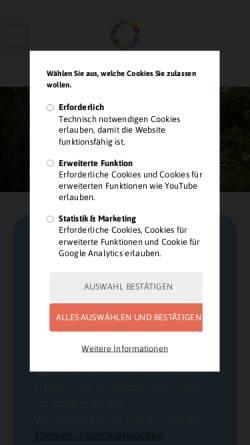 Vorschau der mobilen Webseite www.friedborn.de, Friedborn - Kur- und Gesundheitszentrum
