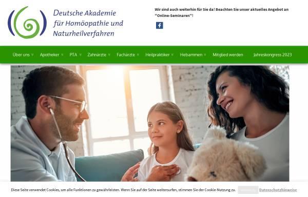 Vorschau von www.dahn-celle.de, Deutsche Akademie für Homöopathie und Naturheilverfahren e.V.