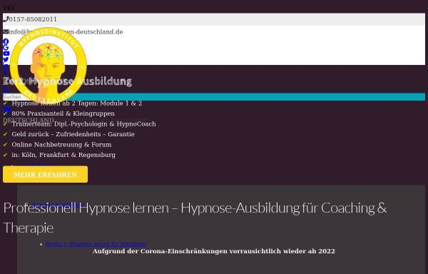 Vorschau von hypnose-lernen-deutschland.de, Hypnoseinstitut Deutschland
