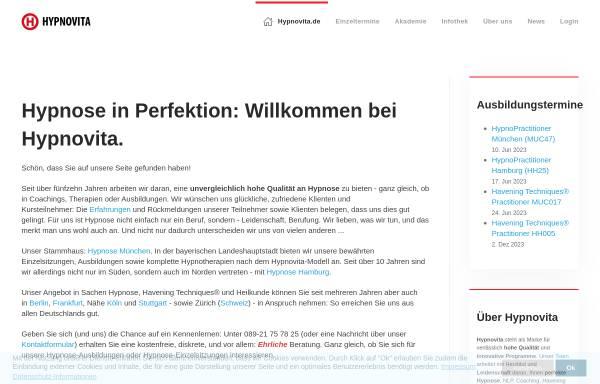 Vorschau von www.hypnoseberatung.de, Die Hypnoseberatung