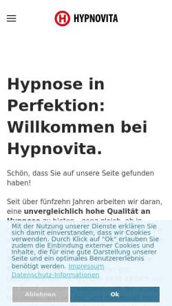 Vorschau der mobilen Webseite www.hypnoseberatung.de, Die Hypnoseberatung
