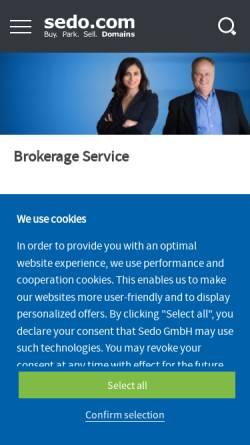 Vorschau der mobilen Webseite www.bera-hannover.de, Ingrid Fumiento-Wollnik