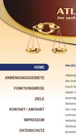 Vorschau der mobilen Webseite atlaslogie-tuttlingen.de, Atlaslogie Tuttlingen