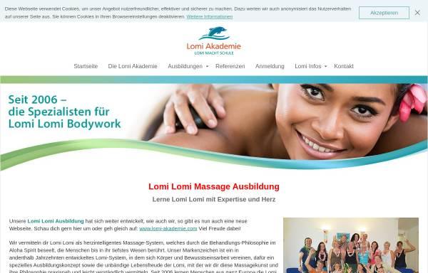 Vorschau von www.lomi-akademie.de, Lomi Akademie