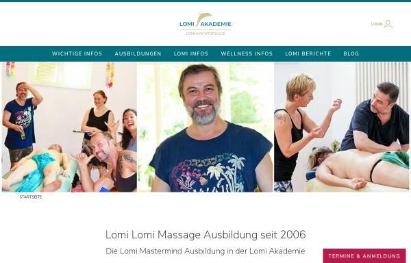 Vorschau von www.lomi-mit-herz.de, Lomi Akademie Berlin