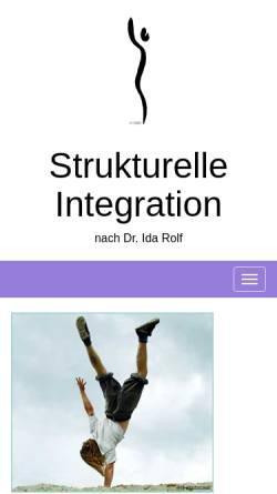 Vorschau der mobilen Webseite strukturelle-integration.de, Deutsche Gesellschaft für Strukturelle Integration e.V.