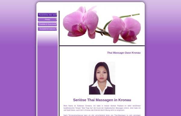 Vorschau von thai-massage-oase.de, Thai Massage Oase Kronau
