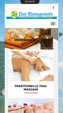 Vorschau der mobilen Webseite www.id-thai-massagestudio.de, Id Thai Massagestudio