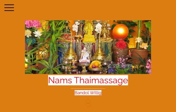 Vorschau von www.nams-thaimassage.de, Nams-Thaimassage Dresden