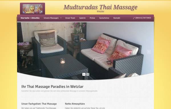 Vorschau von mudturadas-thai-massage-wetzlar.de, Mudturadas Thaimassage