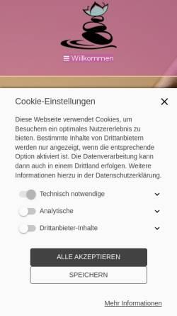 Vorschau der mobilen Webseite www.freiburger-thaimassage-herdern.de, Freiburger Thai Massage Herdern