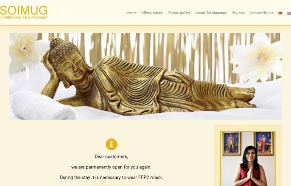 Vorschau von soimug.de, Soimug - Traditionelle Thaimassage