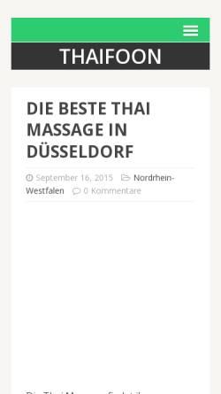 Vorschau der mobilen Webseite kaota.de, Kaota