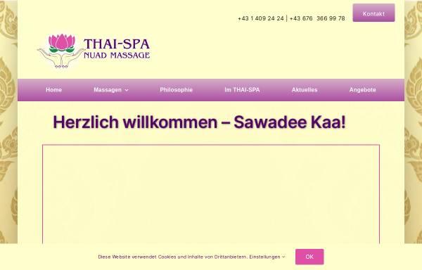 Vorschau von www.thai-spa.at, Thai-Spa Nuad Massagen