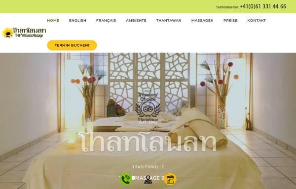 Vorschau von www.thaimassagen-basel.ch, ThanTawan HealthCare