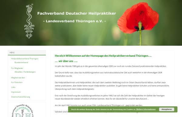 Vorschau von www.heilpraktikerverband-thueringen.de, Heilpraktikerverband Thüringen e.V.