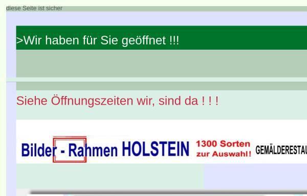 Vorschau von www.bilder-rahmen.eu, Holstein, Johann