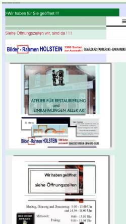 Vorschau der mobilen Webseite www.bilder-rahmen.eu, Holstein, Johann
